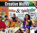 Spielkarten & Spielbretter, 1 CD-ROM Zahlreiche Vorlagen oder eigene Kreationen verwenden. Leicht zu bedienende Bildbearbeitungssoftware. Für Windows 98/Me/2000/XP