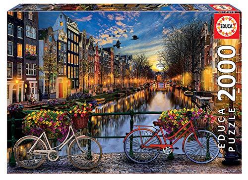 Educa Borrás 2000 Amsterdam, puzzle (17127)