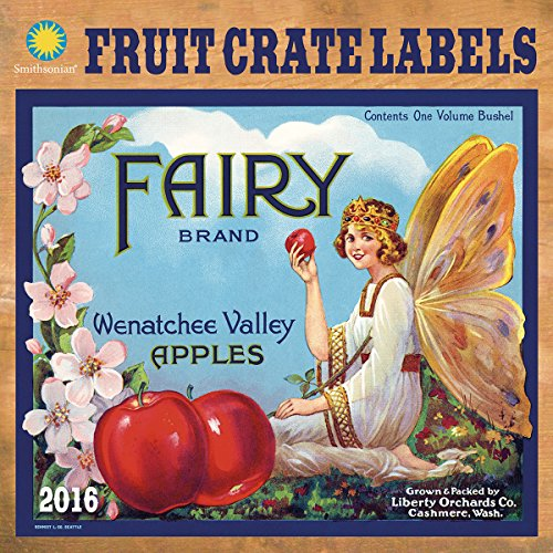 Fruit Crate Labels Calendar