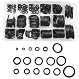 Gasea 222pcs 17 Imperial Sizes Rubber O Ring Sealing Gasket Washer Grommet Assortment Set for Plumbing, Automotive…