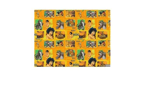 Jersey Disney Das Dschungelbuch Mogli orange 1,6m Breite