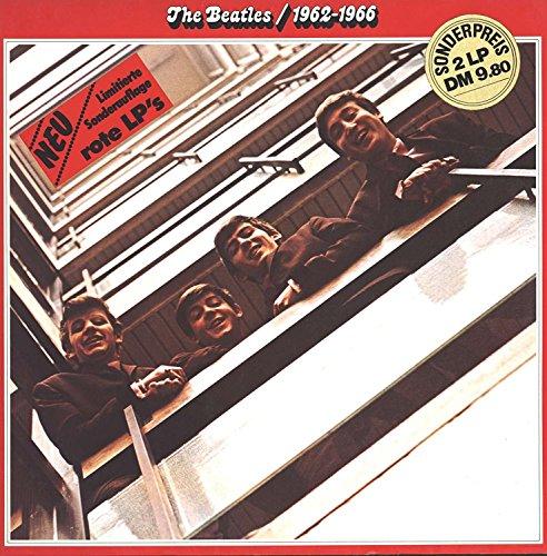 1962-1966 (Limitierte Sonderauflage) (Vinyl rot) / 1C 172-05 307/08 (Beatles-rotes Vinyl)