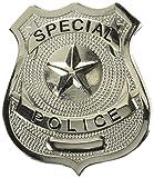 Loftus spécial badge de police Costume, Argent