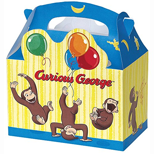 Curious George Favor Boxes, (Curious Kostüme George)