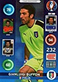 PANINI ADRENALYN XL EURO 2016 #22 GIANLUIGI BUFFON TIME MASCHINE KARTE