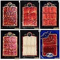 Lote Degustación: Jamón de bellota, Lomo de bellota, Cecina de León, Chorizo