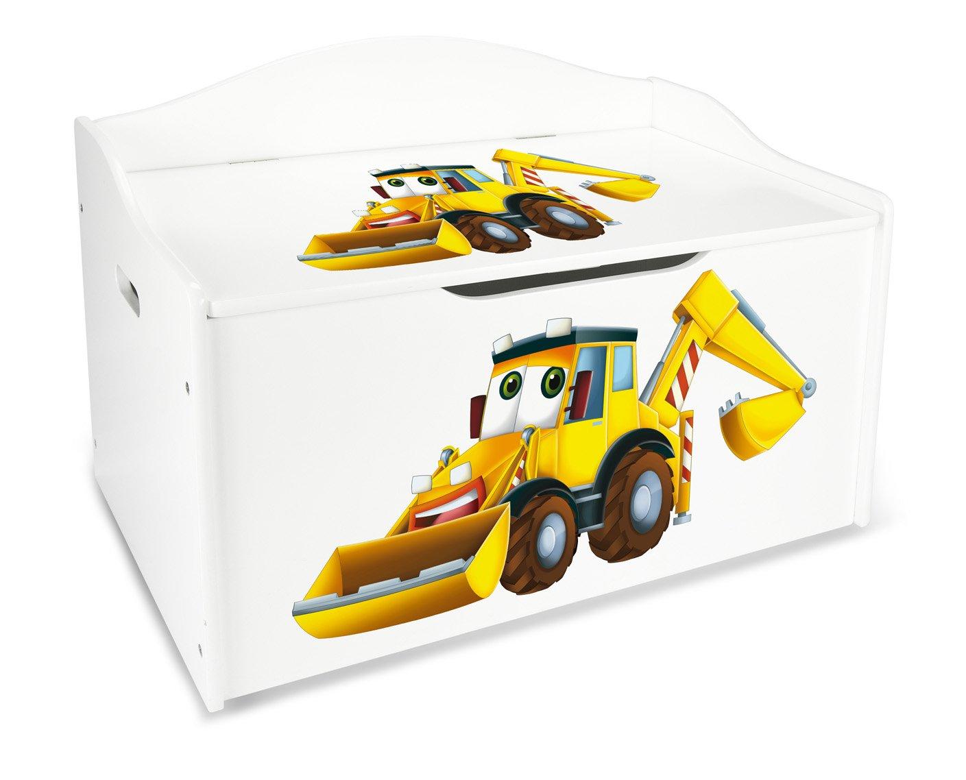 Mobili Per Giochi Bambini : Leomark contenitore porta giochi xl in legno cesta per giochi