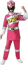 Rubie's, prodotto ufficiale, costume per bambino da Pink Rangers, dal film Power Rangers Charge Dino, taglia M