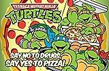 Teenage Mutant Ninja Turtles Say Yes To Pizza Poster