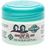 Stylin' Dredz Mouldin' Gel Wax with Tea Tree Oil - Maximum Hold - 250ml