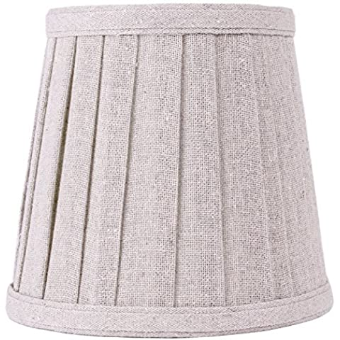 Splink Lino de hierbas de carga Lámpara Tela hecha a mano de arroz para lámpara de mesa Bombilla de vela, droplight, pared, 110* 155* 140mm