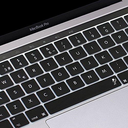 proelife 2016 Nuevo Ultra Thin Funda de silicona para teclado español Skin para MacBook Pro 13 'MacBookPro 15' (con Multi-Touch Bar y Retina) -spanish
