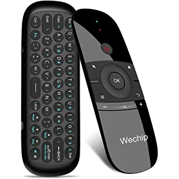 Wechip Mini Air Fly Mouse - TV Remote 2.4G Mention Sensing Air Fly Mouse for Android TV Box/PC/TV