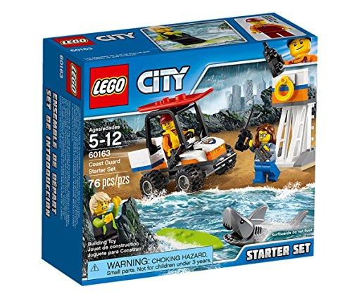 Preisvergleich Produktbild Lego City 60163 - Küstenwache-Starter-Set