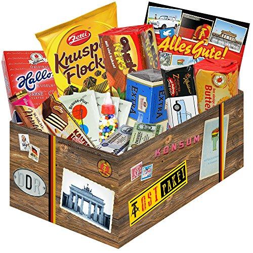 Ostprodukte und DDR Waren ++ tolle Ostpakete mit ostalgischen Produkten aus der DDR ++ Geschenksets und Geschenkpakete mit tollen Ostmotiven ++ Ostalgie Spezialitäten und Süßigkeiten