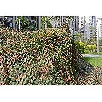 Forfar 1 PC Red de camuflaje 2x3M Tiroteo del bosque del ejército Hide Hunting Netting pretende
