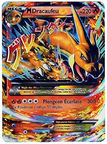 carte Pokémon 13/106 Mega Dracaufeu EX JUMBO 220 PV - FULL ART Promo