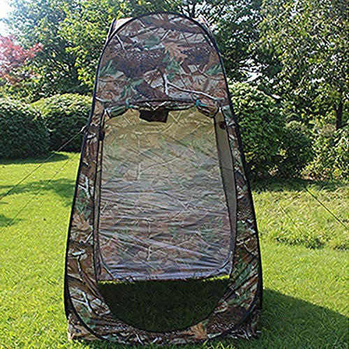 Campingzelt Kuppelzelt, Draussen Aufstellzelt Camouflage Camping Dusche Bad WC Privatsphäre Garderobe Lagerung Einzigartige Mobile Faltzelt.