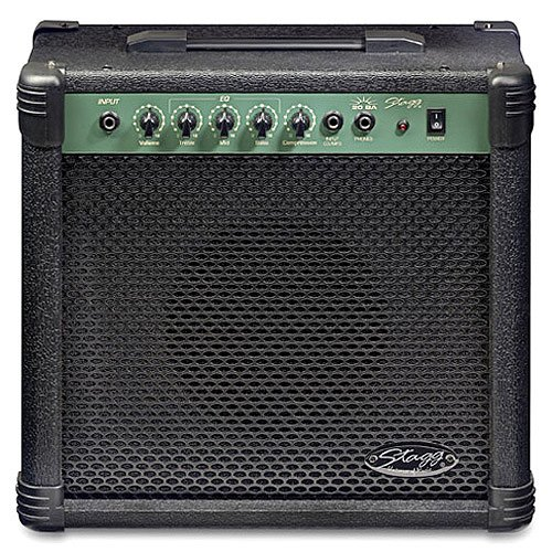 Stagg 20 BA - Amplificador para guitarra y bajo