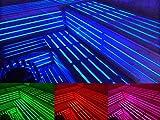 Auralum LED Saunabeleuchtung, LED Saunaleuchte, LED Saunalicht, 20 Farben, 6 Farbwechsel-Programme, 10m