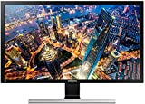 Samsung U28E590D Monitor Ultra HD, Display da 28', Risoluzione 3840 x 2160, 60 Hz, 1 ms, Nero immagine
