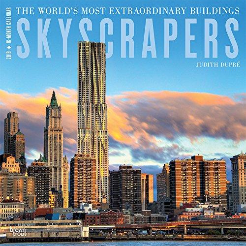 Skyscrapers 2019 Square Hachette por Inc Browntrout Publishers