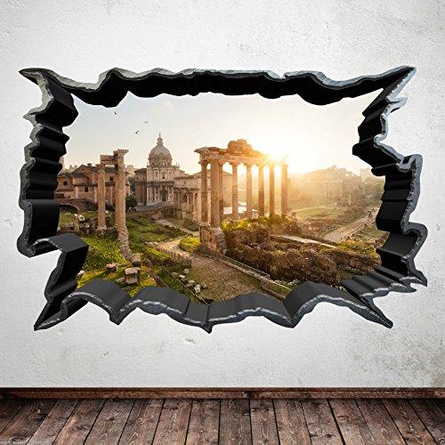 Wand Smart Designs wsd234m Full Farbe Antike Italienisches Ruinen Aufkleber Aufkleber Transfer...