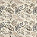 Fabulous Fabrics Halbpanama Leinenoptik Pflanzen - Natur -