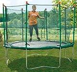 New Plast 41530–Trampolin mit Schutznetz - 3