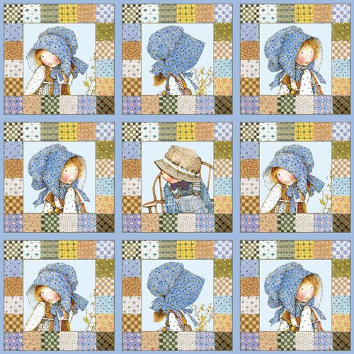 holly-hobbie-panels-cotton-quilting-fabric-28-x-14cm-x-14cm-panels