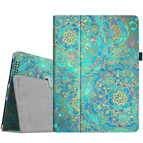 Fintie iPad 2/3 / 4 Hülle Case - Folio Slim Fit Kunstleder Schutzhülle Cover Tasche Etui mit Auto Schlaf/Wach Funktion für Apple iPad 2 / iPad 3 / iPad 4, Jade (Fintie Apple Ipad Folio Fall)