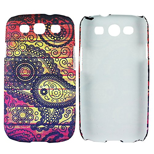 Heartly Aztec Tribal Art Printed Design Retro Color Armor Hard Bumper Back Case Cover For Samsung Galaxy S3 S 3 i9300 - Dark Leaf  available at amazon for Rs.149