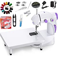 Classipro Sewing Machine for Home Tailoring with Table, Foot Pedal, Adapter and Sewing Kit