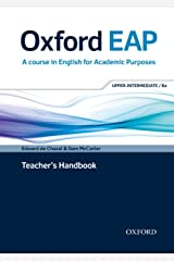 Oxford EAP: Upper-Intermediate/B2: Teacher's Book, DVD and Audio CD Pack Paperback