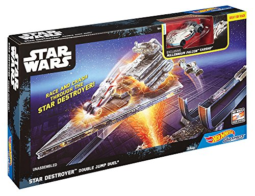 Hot Wheels Trackset für Star Wars Carships-Sortiment (Hot Wheels Dekorationen)