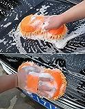 JN-STORE's Multipurpose Microfibre Wash & Dry Cleaning Sponge, 1 Piece - Random Color
