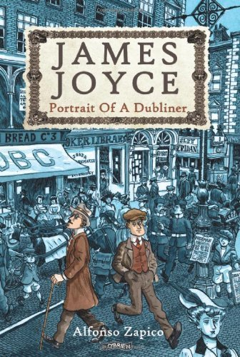 Portada del libro [James Joyce: Portrait of a Dubliner] (By: Alfonso Zapico) [published: May, 2013]