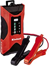 Einhell Batterie Ladegerät CC-BC 2 M (für Batterien von 3 bis 60 Ah, Ladespannung 6 V / 12 V, Winterlademodus, LED-Batteriespannungs- und Ladefortschrittsanzeige)