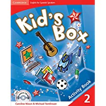 Kid's Box for Spanish Speakers  2 Activity Book with CD-ROM and Language Portfolio - 9788483235904