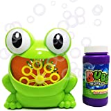 cormes Seifenblasenmaschine mit Flüssigkeit für den Kindergeburtstag, eine Hochzeit, eine Party - Spielzeug für Kinder