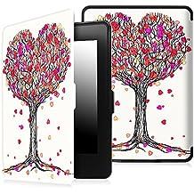 Fintie Funda para Kindle Paperwhite - Ultra Slim Ligera Smart Shell Case Protectora Carcasa con Auto-Sueño / Estela Función para Amazon All-New Kindle Paperwhite ( Ambos 2012, 2013, 2015 y 2016 Versións ), Autumn Love