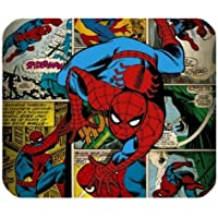 leonardcustom- personalizzato rettangolare in gomma antiscivolo mousepad Gaming Mouse Pad/tappetino Marvel supereroe