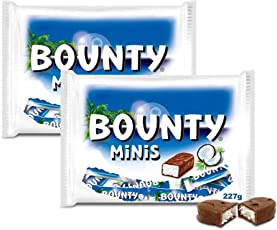 Bounty Chocolate Minis, 227g (Pack of 2)