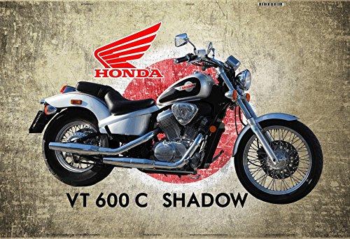 Schatzmix Honda VT 600c Shadow Japan Motorrad blechschild