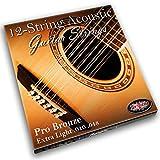 Adagio Professional '12-corda' corde per chitarra acustica Confezione da