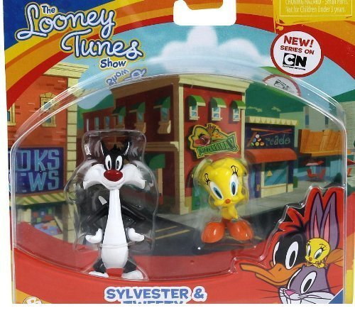 The Looney Tunes Show Figures, Sylvester & Tweety, by Cartoon Network