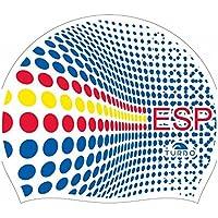 Turbo gorro natacion silicona ESPAÑA Silicone Cap (blanco)