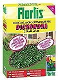Flortis 1110213 Concime Microgranulare per Dhondra, 1500 g, 9x18x24 cm
