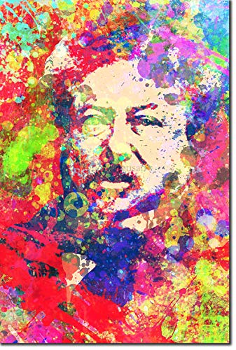 - TPCK Alexandre Dumas Kunstdruck Colourburst Hochglanz Foto Poster Plakat - Maße: 60 x 40 cm
