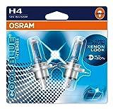 Osram COOL BLUE INTENSE H4, Halogen-Scheinwerferlampe, 64193CBI-02B, 12V PKW, Doppelblister (2 Stück)